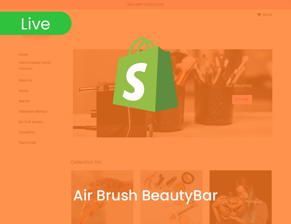 Air Brush Beautybar