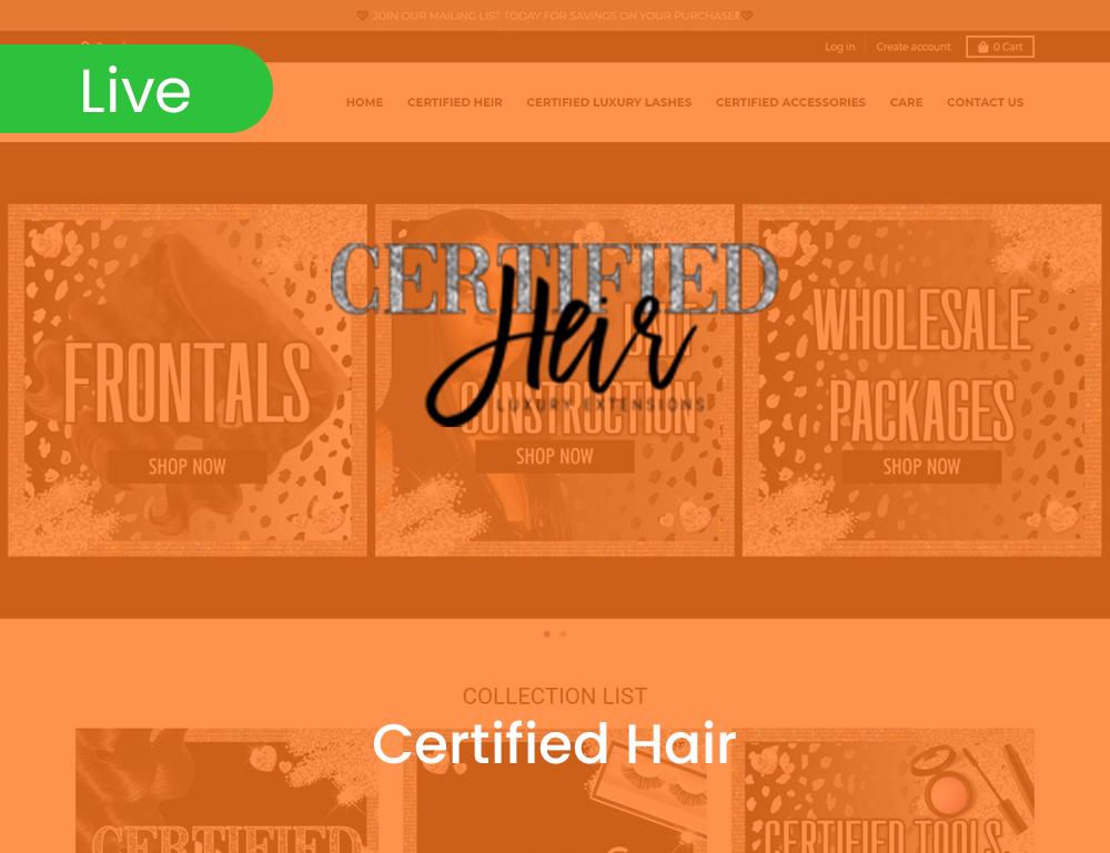 Certified Heir
