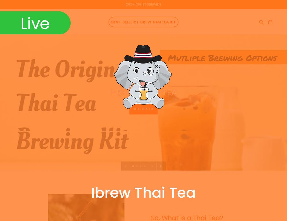 Ibrew Thai Tea