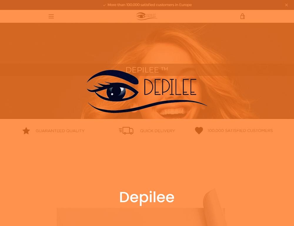Depilee
