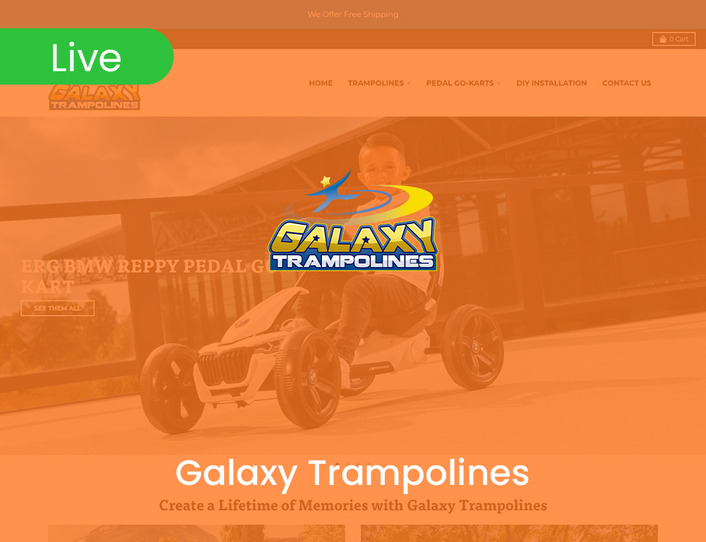 Galaxy Trampolines