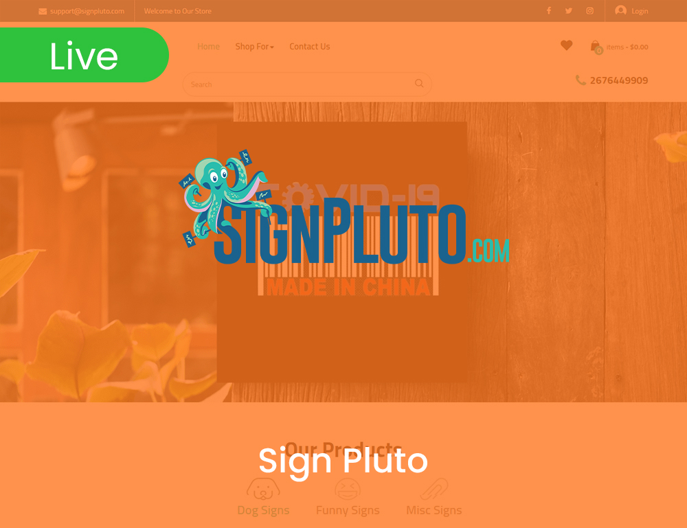 Sign Pluto
