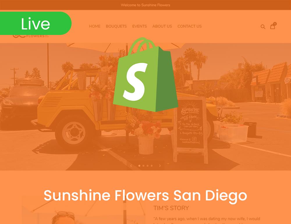 Sunshine Flowers San Diego