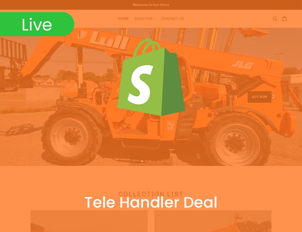 Tele Handler Deal