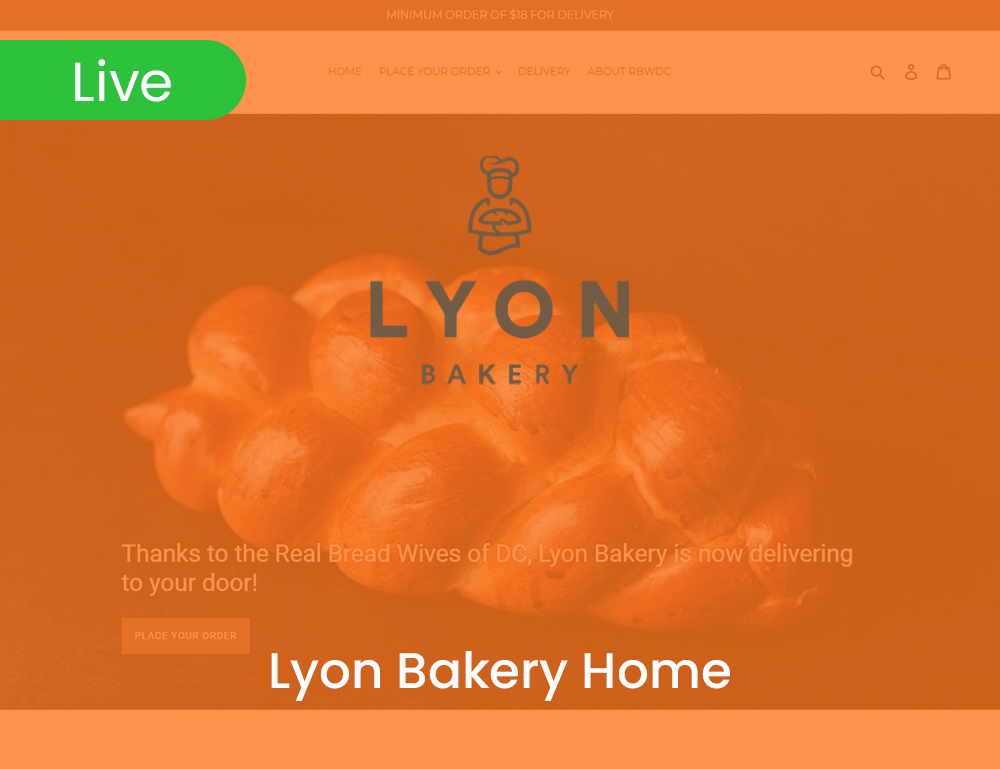 Lyon Bakery Home
